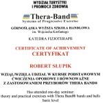 Thera Band - Ćwiczenia oporowe i równoważne z zastosowaniem przyborów Thera Band